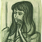1947 Portrait de Florence Loeb, Pablo Picasso (1881-1973) Period of creation: 1943-1961
