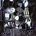 1950 paloma et Claude , enfants de Picasso, Pablo Picasso (1881-1973) Period of creation: 1943-1961