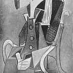 1954 Portrait de Sylvette David 20, Pablo Picasso (1881-1973) Period of creation: 1943-1961