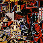 Pablo Picasso (1881-1973) Period of creation: 1943-1961 - 1957 Les Menines - Vue densemble (Velаzquez) I