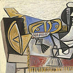 1947 Composition patriotique, Pablo Picasso (1881-1973) Period of creation: 1943-1961