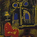 1958 La Californie – IntВrieur au fauteuil rouge, Pablo Picasso (1881-1973) Period of creation: 1943-1961