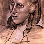 Pablo Picasso (1881-1973) Period of creation: 1943-1961 - 1944 Portrait de femme (Marie-ThКrВse)