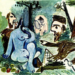 Pablo Picasso (1881-1973) Period of creation: 1943-1961 - 1961 Le dВjeuner sur lherbe (Manet) 4