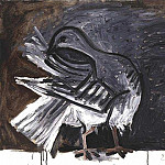1960 Pigeon lissant ses plumes, Pablo Picasso (1881-1973) Period of creation: 1943-1961