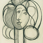 1947 Portrait de FranЗoise, Pablo Picasso (1881-1973) Period of creation: 1943-1961