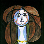 Pablo Picasso (1881-1973) Period of creation: 1943-1961 - 1946 Femme au collier jaune