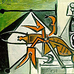 1948 Le grand homard rouge, Pablo Picasso (1881-1973) Period of creation: 1943-1961