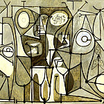 1948 La cuisine, Pablo Picasso (1881-1973) Period of creation: 1943-1961