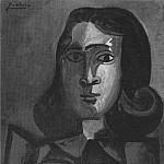 Pablo Picasso (1881-1973) Period of creation: 1943-1961 - 1943 Portrait de Dora Maar 1