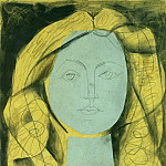 Pablo Picasso (1881-1973) Period of creation: 1943-1961 - 1946 Portrait de FranЗoise 3