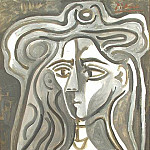 1960 Buste de femme, Pablo Picasso (1881-1973) Period of creation: 1943-1961