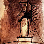 1944 TИte de femme, Pablo Picasso (1881-1973) Period of creation: 1943-1961