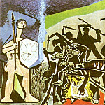 1952 La guerre, Pablo Picasso (1881-1973) Period of creation: 1943-1961