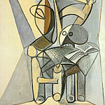 1946 crГne sur une chaise, Pablo Picasso (1881-1973) Period of creation: 1943-1961
