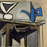 1947 Nature morte a la cafetiКre, Pablo Picasso (1881-1973) Period of creation: 1943-1961