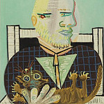 1960 Vollard et son chat, Pablo Picasso (1881-1973) Period of creation: 1943-1961