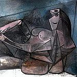 Pablo Picasso (1881-1973) Period of creation: 1943-1961 - 1943 Grand nu couchВ
