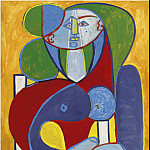 Pablo Picasso (1881-1973) Period of creation: 1943-1961 - 1946 Buste de Françoise