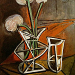 Pablo Picasso (1881-1973) Period of creation: 1943-1961 - 1943 Vase de fleurs
