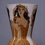 Pablo Picasso (1881-1973) Period of creation: 1943-1961 - 1950 Grand vase aux femmes voilВes
