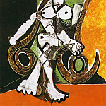 1956 Femme nue dans le fauteuil Е bascule, Pablo Picasso (1881-1973) Period of creation: 1943-1961