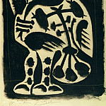 Pablo Picasso (1881-1973) Period of creation: 1943-1961 - 1948 Le grand hibou