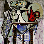 Pablo Picasso (1881-1973) Period of creation: 1943-1961 - 1947 Nature morte sur une table