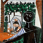 Pablo Picasso (1881-1973) Period of creation: 1943-1961 - 1953 Paloma devant le jardin