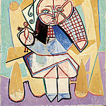 Pablo Picasso (1881-1973) Period of creation: 1943-1961 - 1947 La fille du concierge tenant une poupВe
