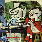 1953 Le dВjeuner [Le repas], Pablo Picasso (1881-1973) Period of creation: 1943-1961