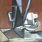 1944 La cafetiКre bleue , Pablo Picasso (1881-1973) Period of creation: 1943-1961