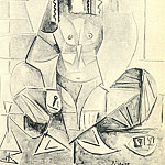 1955 Les femmes dAlger XII, Pablo Picasso (1881-1973) Period of creation: 1943-1961