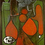 1949 Femme assise 1, Pablo Picasso (1881-1973) Period of creation: 1943-1961