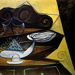 Pablo Picasso (1881-1973) Period of creation: 1943-1961 - 1943 Le buffet du Catalan R2