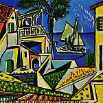 Pablo Picasso (1881-1973) Period of creation: 1943-1961 - 1952 Paysage mВditerranВen