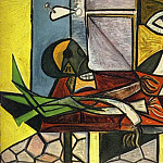 1945 Poireaux, crГne et pichet 1, Pablo Picasso (1881-1973) Period of creation: 1943-1961