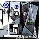 1948 Vue de la fenИtre, Pablo Picasso (1881-1973) Period of creation: 1943-1961