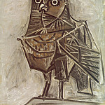 Pablo Picasso (1881-1973) Period of creation: 1943-1961 - 1951 Le hibou de la mort
