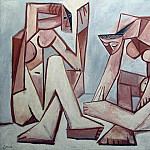 Pablo Picasso (1881-1973) Period of creation: 1943-1961 - 1956 Femmes devant la mer