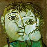 Pablo Picasso (1881-1973) Period of creation: 1943-1961 - 1951 Claude Вcrivant