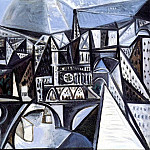 Pablo Picasso (1881-1973) Period of creation: 1943-1961 - 1945 Vue de Notre-Dame de Paris - +le de la CitВ