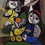 Pablo Picasso (1881-1973) Period of creation: 1943-1961 - 1951 MКre aux enfants a lorange