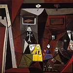 1957 Les Menines – Vue densemble III, Pablo Picasso (1881-1973) Period of creation: 1943-1961