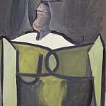 1943 Buste de femme, Pablo Picasso (1881-1973) Period of creation: 1943-1961