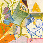 1944 Coq de la libВration, Pablo Picasso (1881-1973) Period of creation: 1943-1961