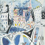 1954 Notre-Dame de Paris, Pablo Picasso (1881-1973) Period of creation: 1943-1961