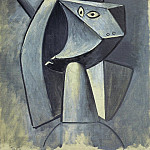 1947 TИte Е la coiffe, Pablo Picasso (1881-1973) Period of creation: 1943-1961