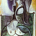 1960 Portrait dune femme assise, Pablo Picasso (1881-1973) Period of creation: 1943-1961