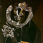 Pablo Picasso (1881-1973) Period of creation: 1943-1961 - 1950 Portrait dun peintre (El Greco)